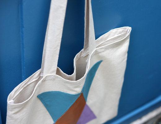 DIY - Tote bag et cuir
