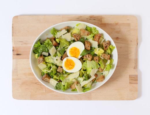 Recette césar salade
