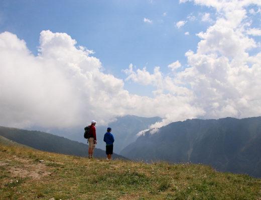 Montagnes Alpes italiennes
