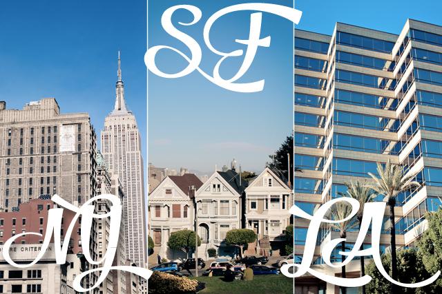NYC-SF-LA-voyage