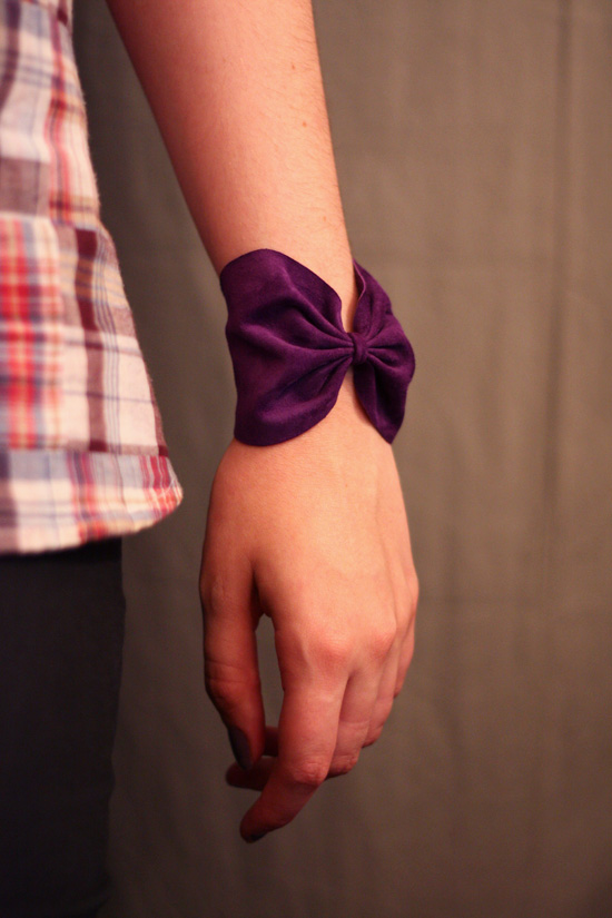 tutoriel bracelet en cuir noeud