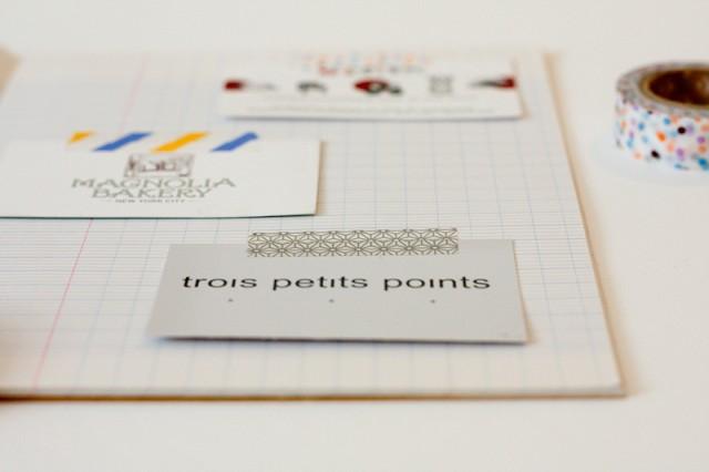 DIY Un Cahier Pour Cartes De Visite Morning By Foley