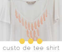 diy custo tee shirt avec tampon