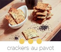 recette cackers-au-pavot-maison