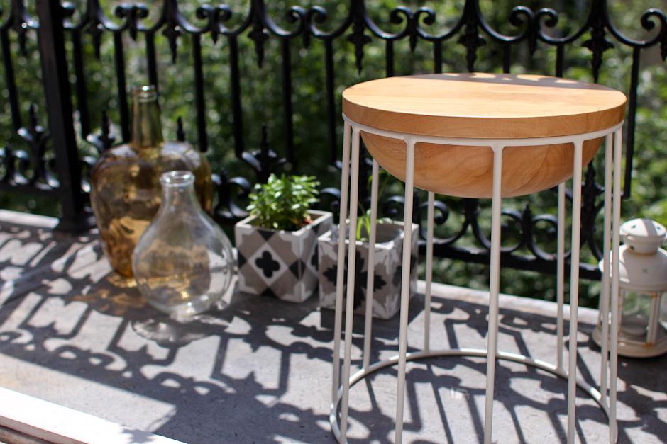 Déco petit balcon parisien avec la Redoute
