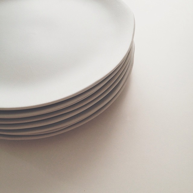 Beautiful new plates from #jarsceramistes ? #dinnerware #ceramic