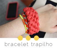diy brésilien bracelet trapilho