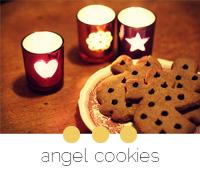 recette cookies anges noel