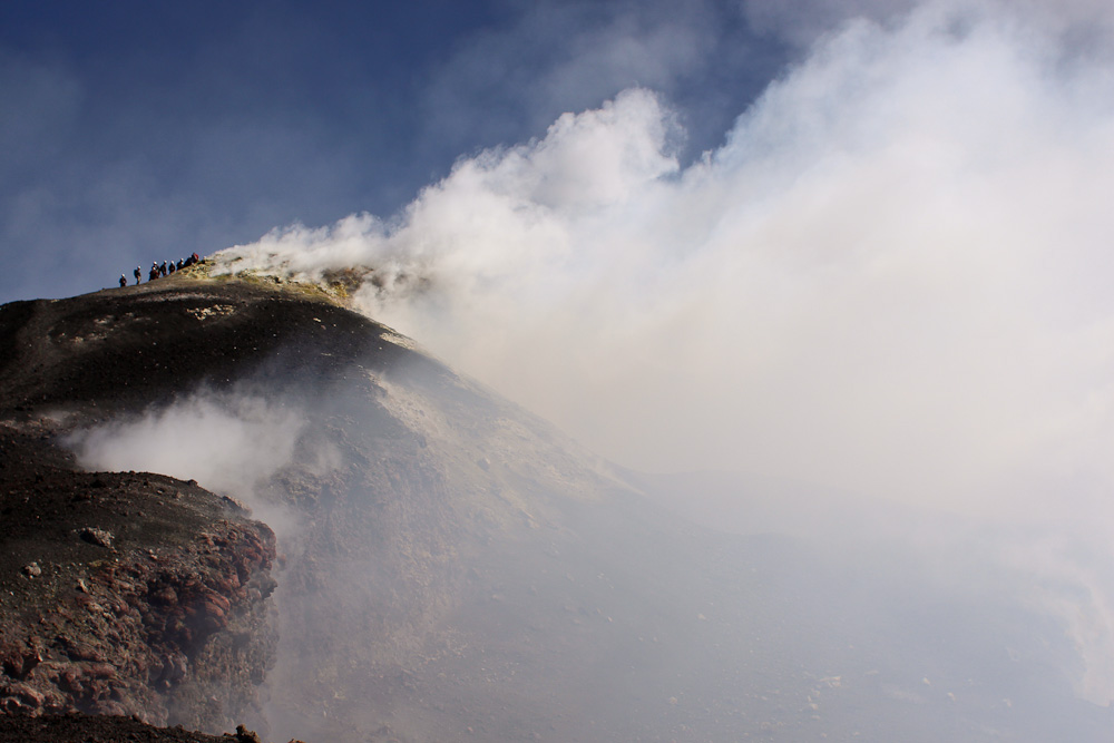 Excursion Volcan Etna Sicile