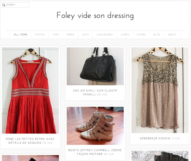vide dressing tictail morning-by-foley