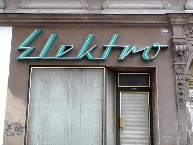 Vintage Sign - Phospho